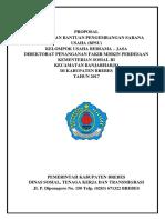 Cover Proposal KUBE BPSU
