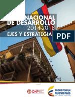 PND 2014-2018 Ejes y Estrategias