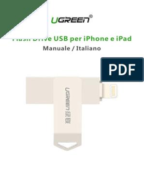 collegare Flash Drive per iPad