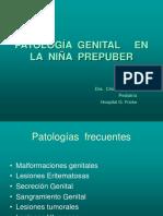 Patologia Genital en La Nina Prepuber
