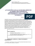 CUÁLES SON LOS ALCANCES DEL DERECHO AL DEBIDO PROCEDIMIENTO ADMINISTRATIVO EN LA LEY DEL PROCEDIMIENTO ADMINISTRATIVO GENERAL.doc