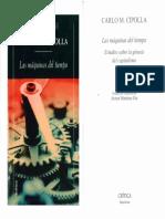 Carlo Cipolla - Las máquinas del tiempo.pdf