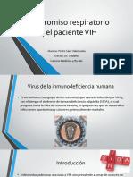 Compromiso respiratorio VIH