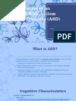 characteristics of an individual with asd