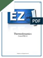 ME124 Thermodynamics