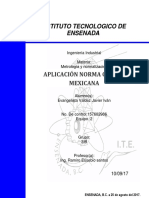 Aplicación Norma Oficial Mexicana