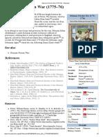 Ottoman–Persian War (1775–76) - Wikipedia