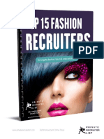 Top 15 Fashion Recruiters