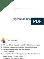 Algébre de Boole