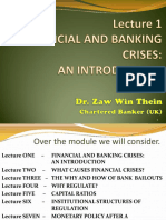 Lecture 1 Financial and Banking Crises an Introduction 2017