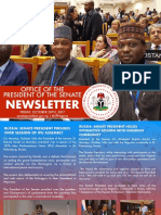 Office of the Senate President Newsletter. Week of Monday October 16th to Friday, October 20th
