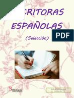 Guía de Lectura Escritoras Españolas 2