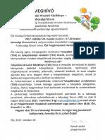 Lakossági Fórum - Településképi Arculati Kézikönyv