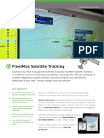 JCS FleetMon Satellite Tracking Brochure