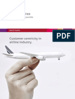 Mindtree Thought Posts White Paper Customer Centricity in Airline Industry