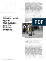 What is Love? Queer Subcultures