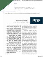 Proposal Skripsi Sistem Akuntansi