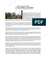 Kesultanan Islam Di Tanah Jawa