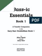 Bass-ic Essential (Book 1)