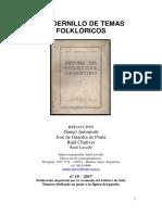Folklore 18, Gaucho