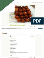 Cookpad Com Id Resep 2127879 Sate Bacem Telur Puyuh