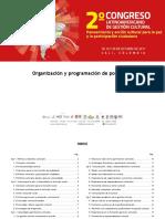 Programa_de_ponencias_FINAL 2do Congreso Latnamericano de Gestion Cultural
