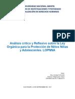 4. DDHH ARCANGEL ALVARADO - Análisis Critico y Reflexivo