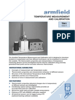 TH1 Temperature Measurement and Calibration - Issue 3