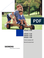 Manual Program.hipath1100b Siemens