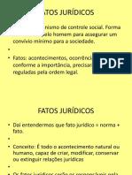 Aula 7 Direito Civil Fatos Jur Dicos
