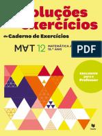 Resoluções Dos Exercícios Do Caderno de Exercícios