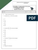 Guía fracciones 11