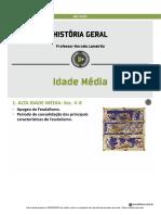 Historia Geral - Idade Media