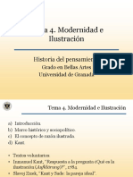 Tema 4-Modernidad e Ilustracion