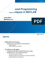 May 12 2015 Advanced Matlab