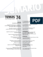 Revista Temas 74