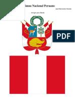 Himno Nacional Del Peru. Somos Libres Seamoslo Siempre.