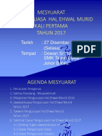 Mesy.Majlis Hal Ehwal Murid Kali 1  2017.ppt