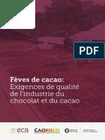Feves de Cacao Exigences de Qualite de l Industrie Apr 2016_Fr