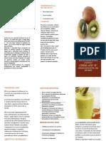 El Consumo y Las Propiedades Nutritivas de La