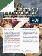 Design tank - Digitalisation des circuits alimentaires de proximité