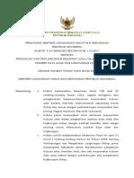 Permen Pengakuan Dan Perlindungan Kearifan Lokal Dalam Pengelolaan SDA Dan LH.pdf