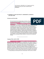 European Language Policy_Assessment, Learning, And the C.E.F.R.