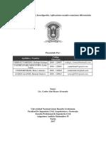 Informe Del Reservorio de Agua Con Un Hoyo en El Fondo