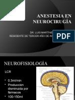 ANESTESIA EN NEUROCIRUGÍA