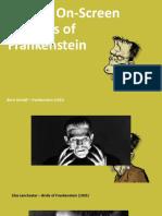 10 Best on-Screen Versions of Frankenstein