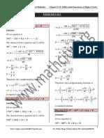 Chap 10 Solutions Ex 10 1 Method Umer Asghar