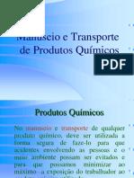Manuseio Produtos QuÝmicos tt¦