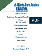 Unidad III Fundamento y Estructura Del Curriculo Dom. Linavel Mejia