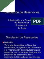 simulacion de reservorios